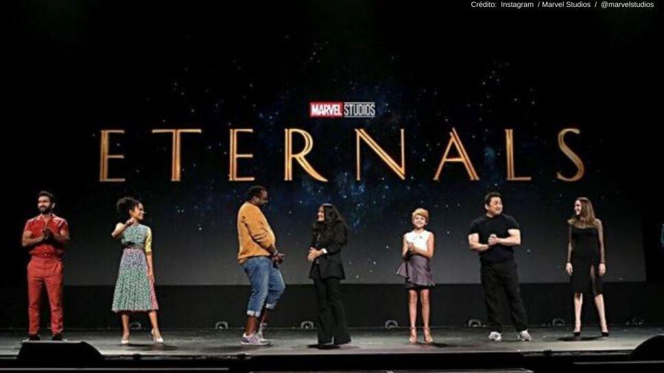 La película Eternals tendrá su primer beso LGBT+.