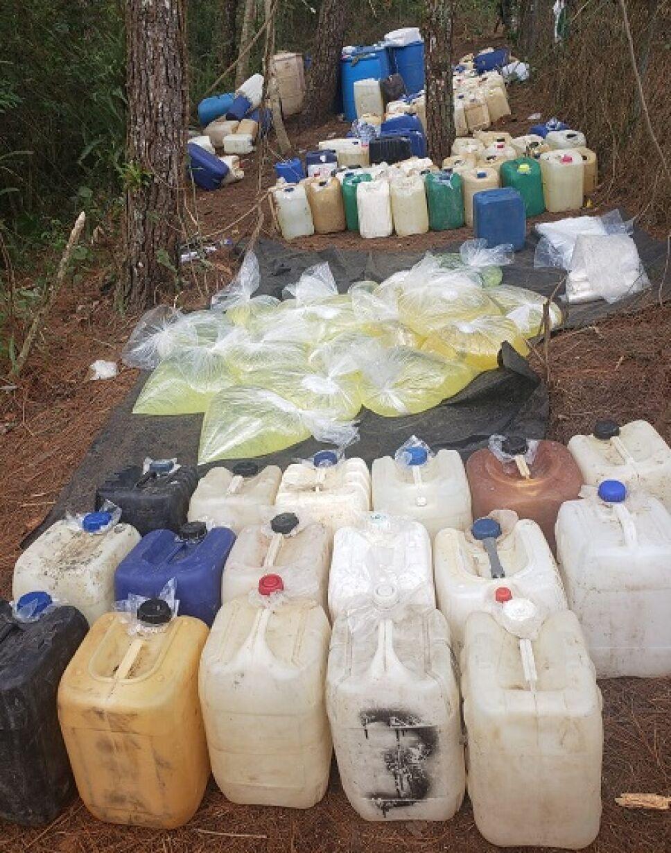 3 500 litros combustible robado huachicoleros puebla Semar