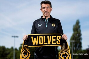 Bruno Lage , técnico del Wolves