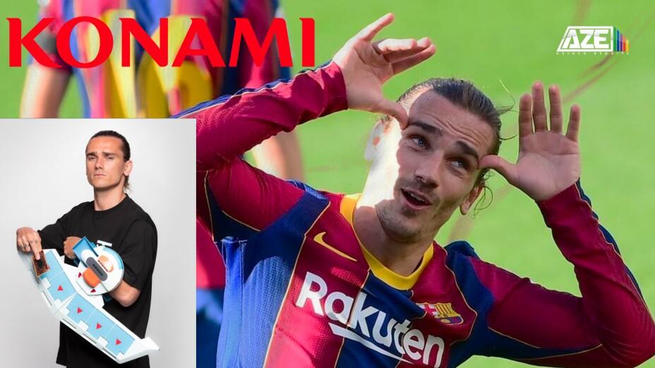 Antoine Griezmann pierde contrato con Konami