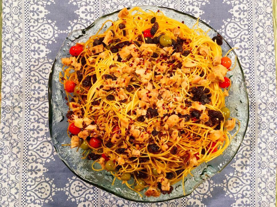 Receta Pasta con atún Cocineros Mexicanos