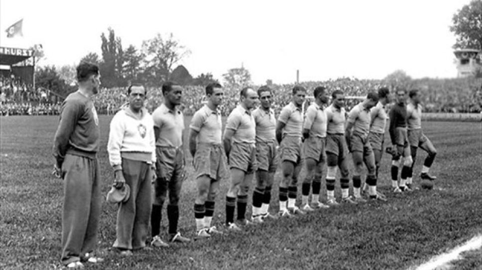 Brasil vs Polonia 1938