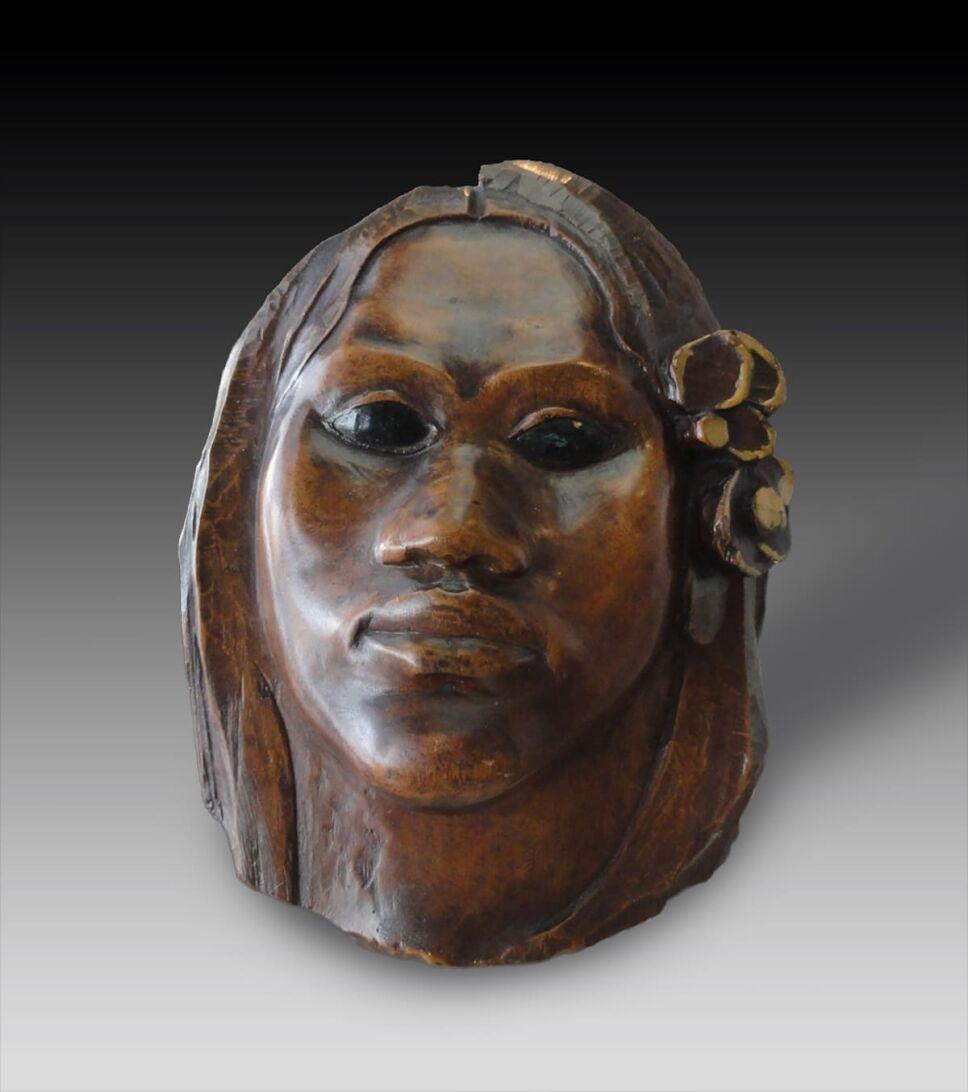 obras de paul gauguin escultura tehura teha'amana