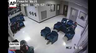 Inmate falls through ceiling during failed escape