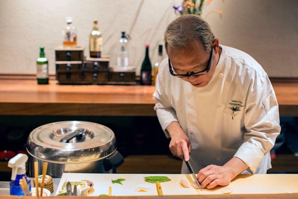Chef Yasuo Asai japones sushi
