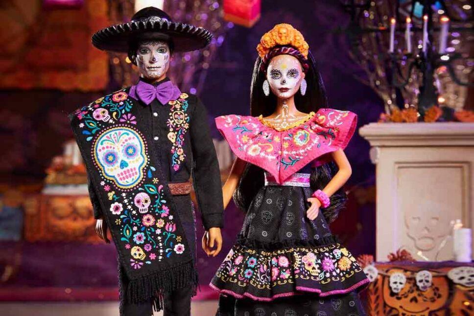 Barbie celebrará el Día de Muertos junto a Ken