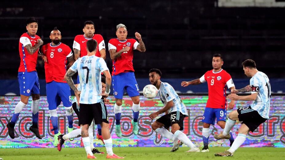 Copa America 2021 Argentina vs Chile
