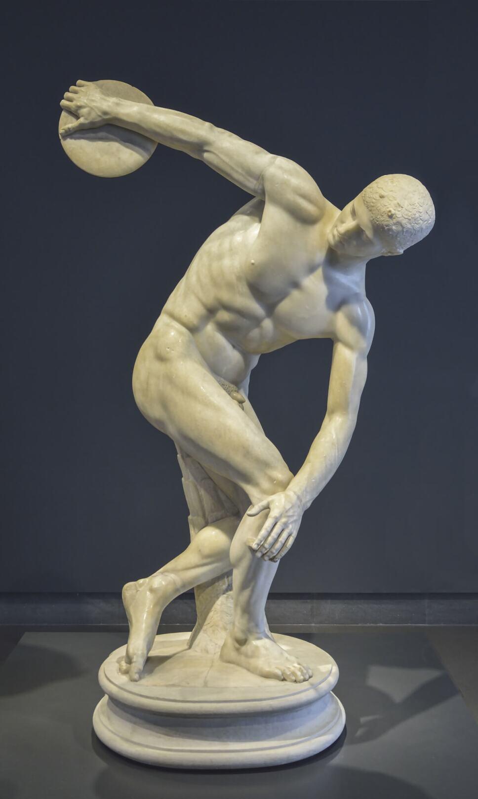 estatua discobolus