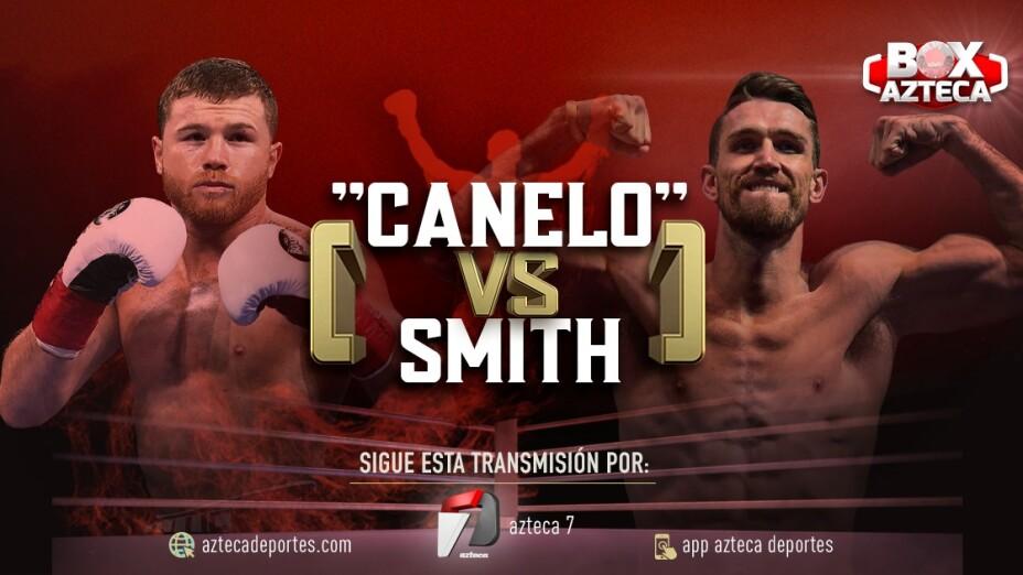 Pelea Canelo vs Smith EN VIVO