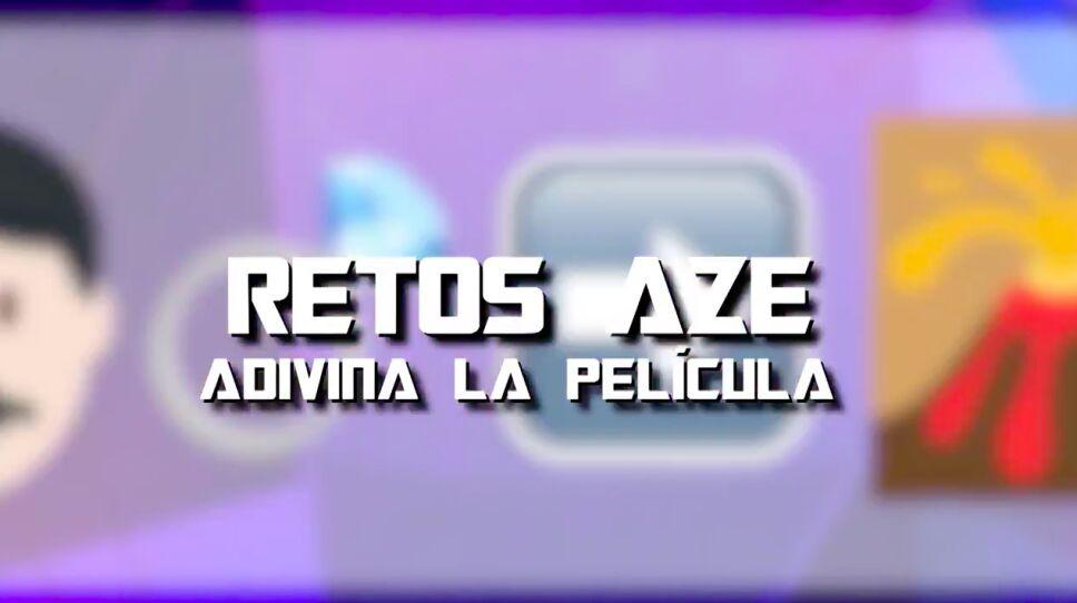 Los emojis del reto Azteca esports de películas