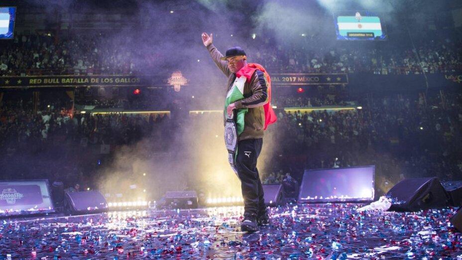 Aczino campeón Red Bull Batalla de los Gallos 2017