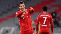 Robert Lewandowski, máximos goleadores futbol europeo 2021