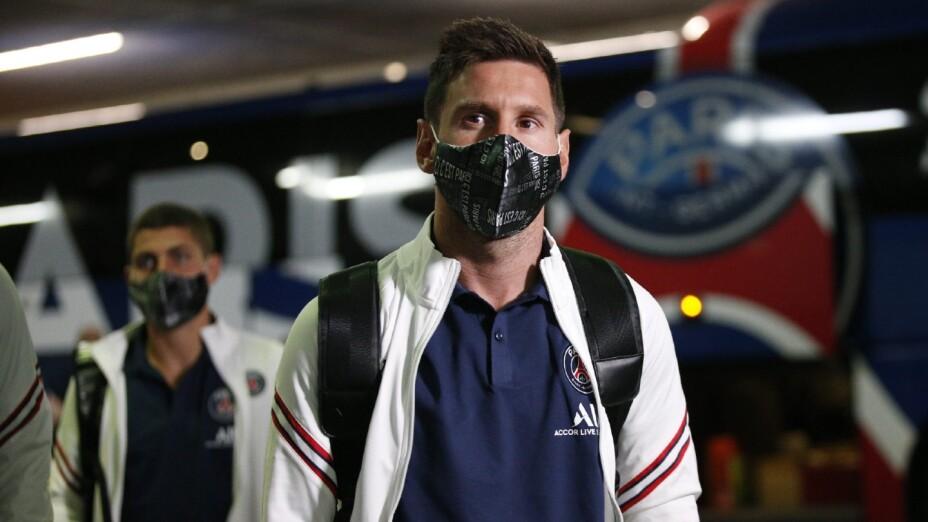 Messi, en su primera convocatoria con el PSG