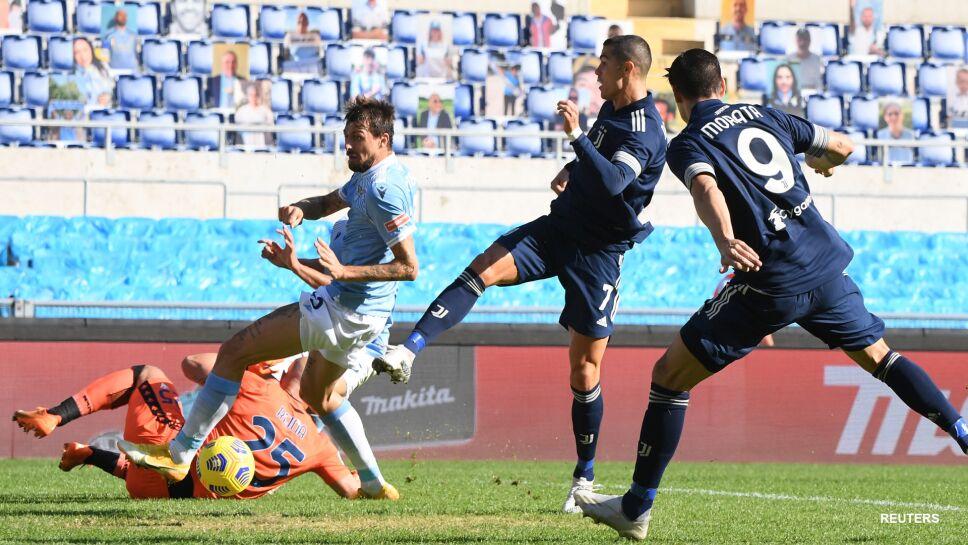 Cristiano Ronaldo ante Lazio