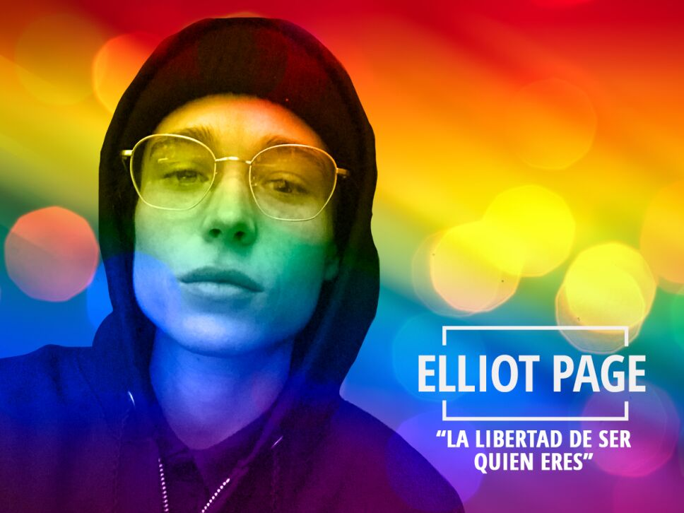Elliot Page la libertad de ser quien eres