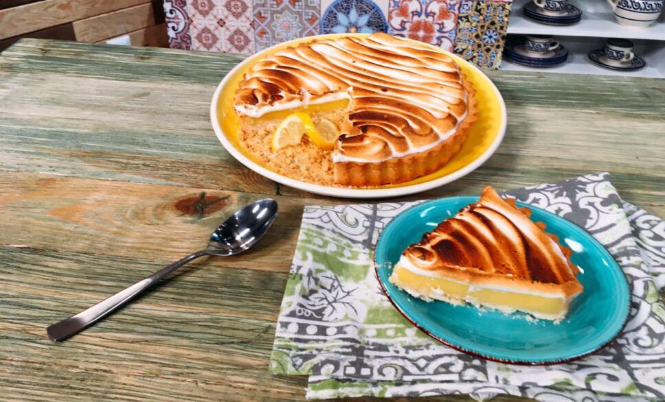 tarta de limón, cocineros mexicanos, tv azteca