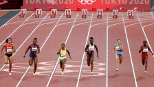 Final femenil 100 metros Tokio 2020