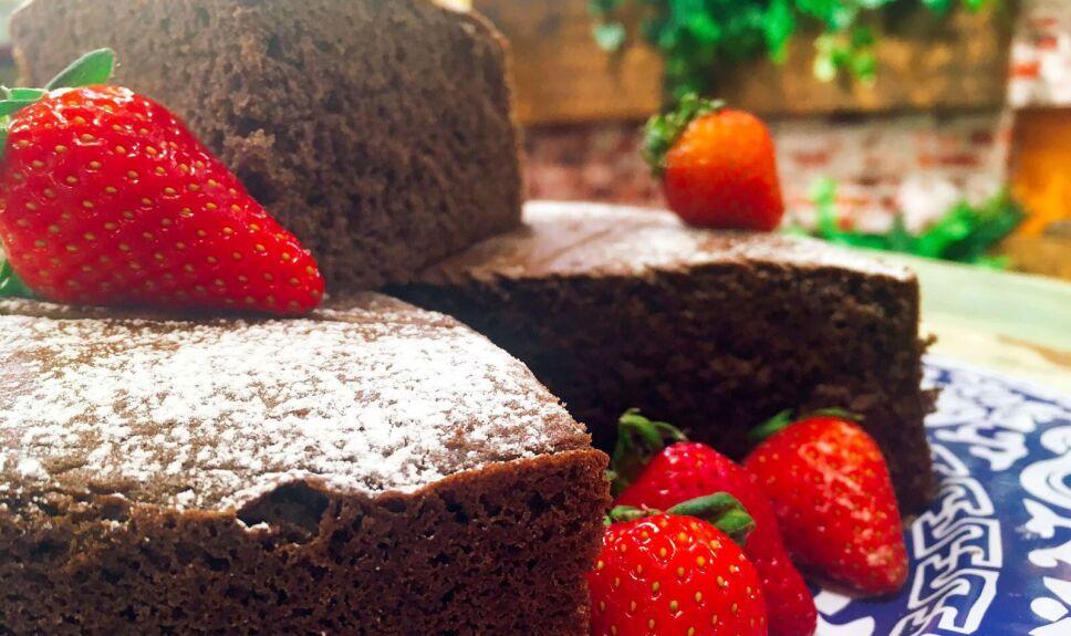 Receta Bizcocho de chocolate Cocineros Mexicanos