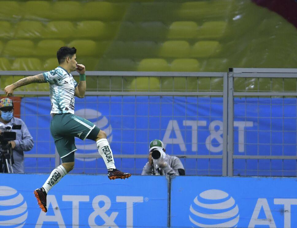 Gol de Dávila partido América vs León