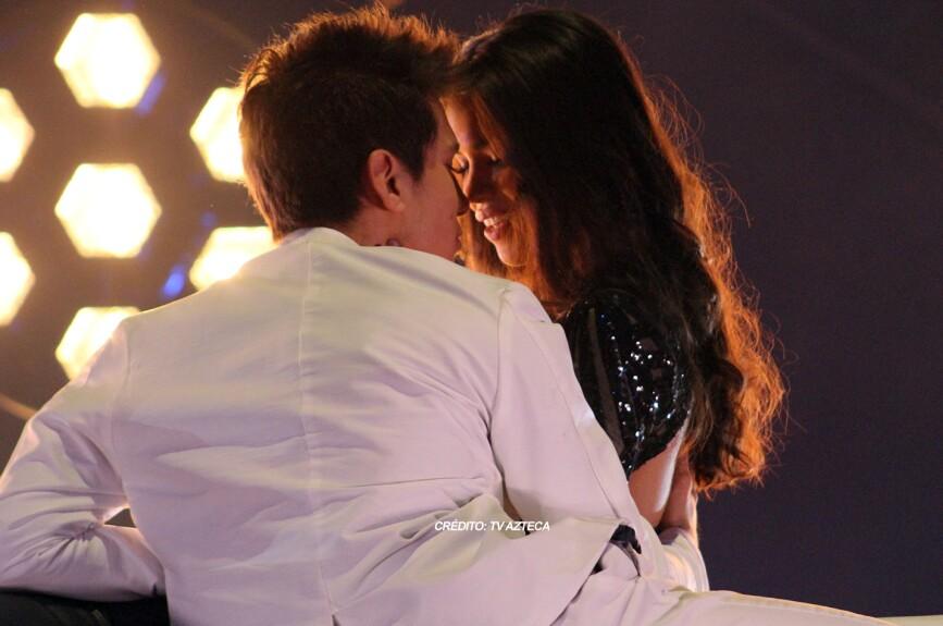 ¿Qué tal el beso que le robaron a Silvia?
