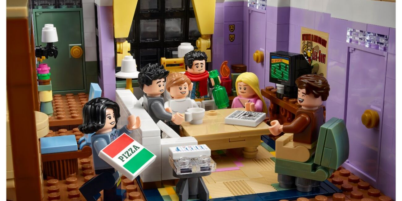 Departamento Friends Lego