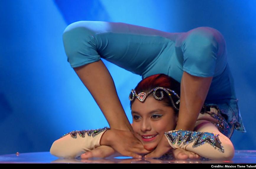 ¡Keyra Paris mostró su enorme flexibilidad!