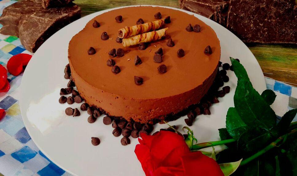 Pastel de chocolate apasionado