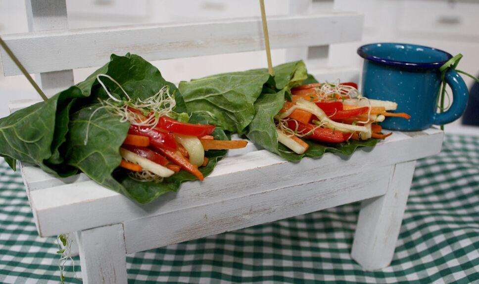 Envuelto de verduras