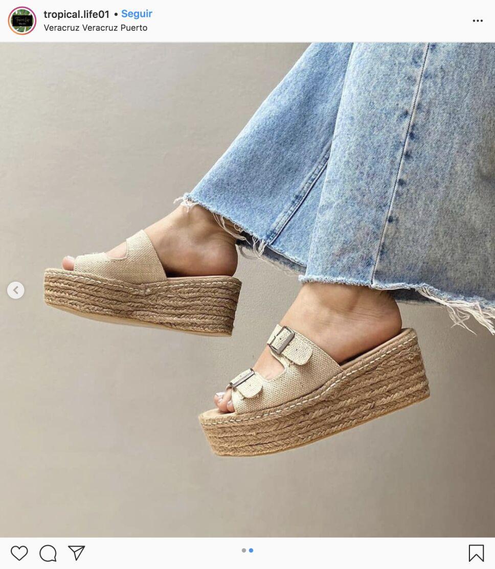 zapatos y alpargatas con culottes