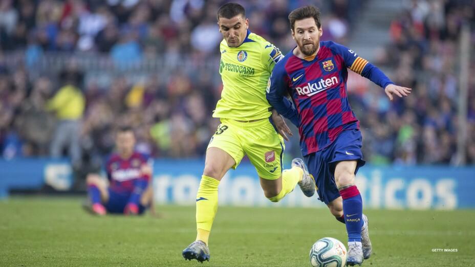 Getafe cambia de nombre para recibir a Messi