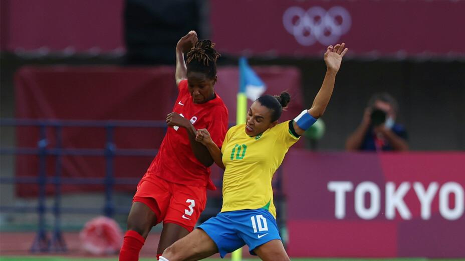 Brasil vs Canada Tokio 2020