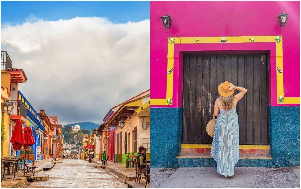Ciudades mas coloridas de México para visitar en un fin de semana