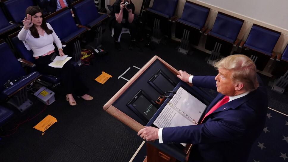 Nuevo plan de Trump contra el Covid-19