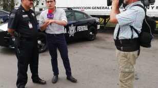 Otoniel Martinez fue a la Caseta de Tepotzotlán para platicar con la Policía federal.