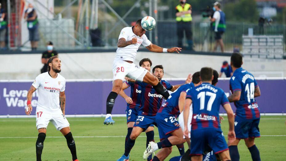 Levante y Sevilla reparten puntos