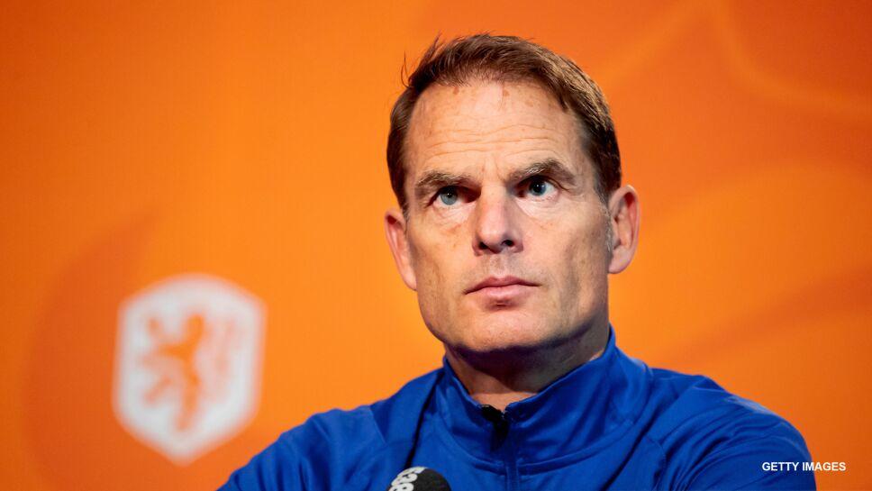El técnico de la selección de Holanda  Frank de Boer