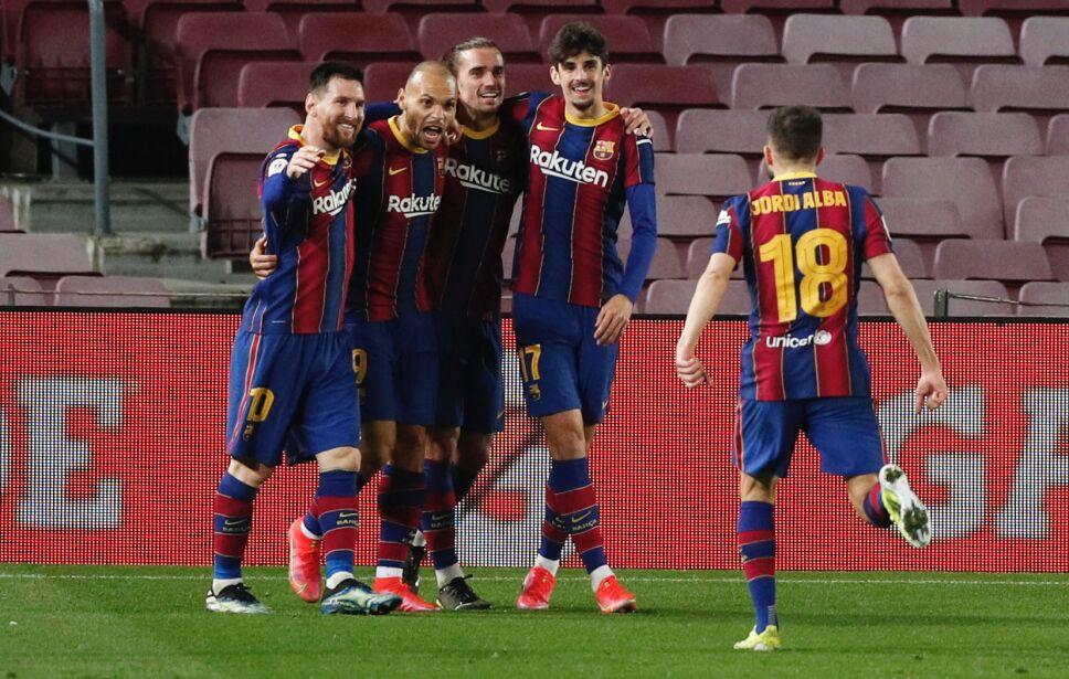 Barcelona golea al Sevilla y va a la final de la Copa del Rey