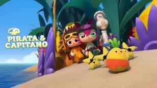 Pirata y capitano personajes Kidsiete
