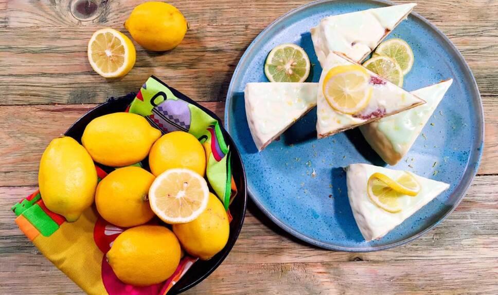 Receta Panqué de limón
