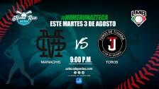 Marichis de Guadalajara vs Toros de Tijuana Liga Mexicana de Beisbol