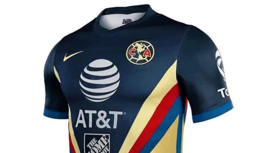 La nueva playera del América para 2020 2021