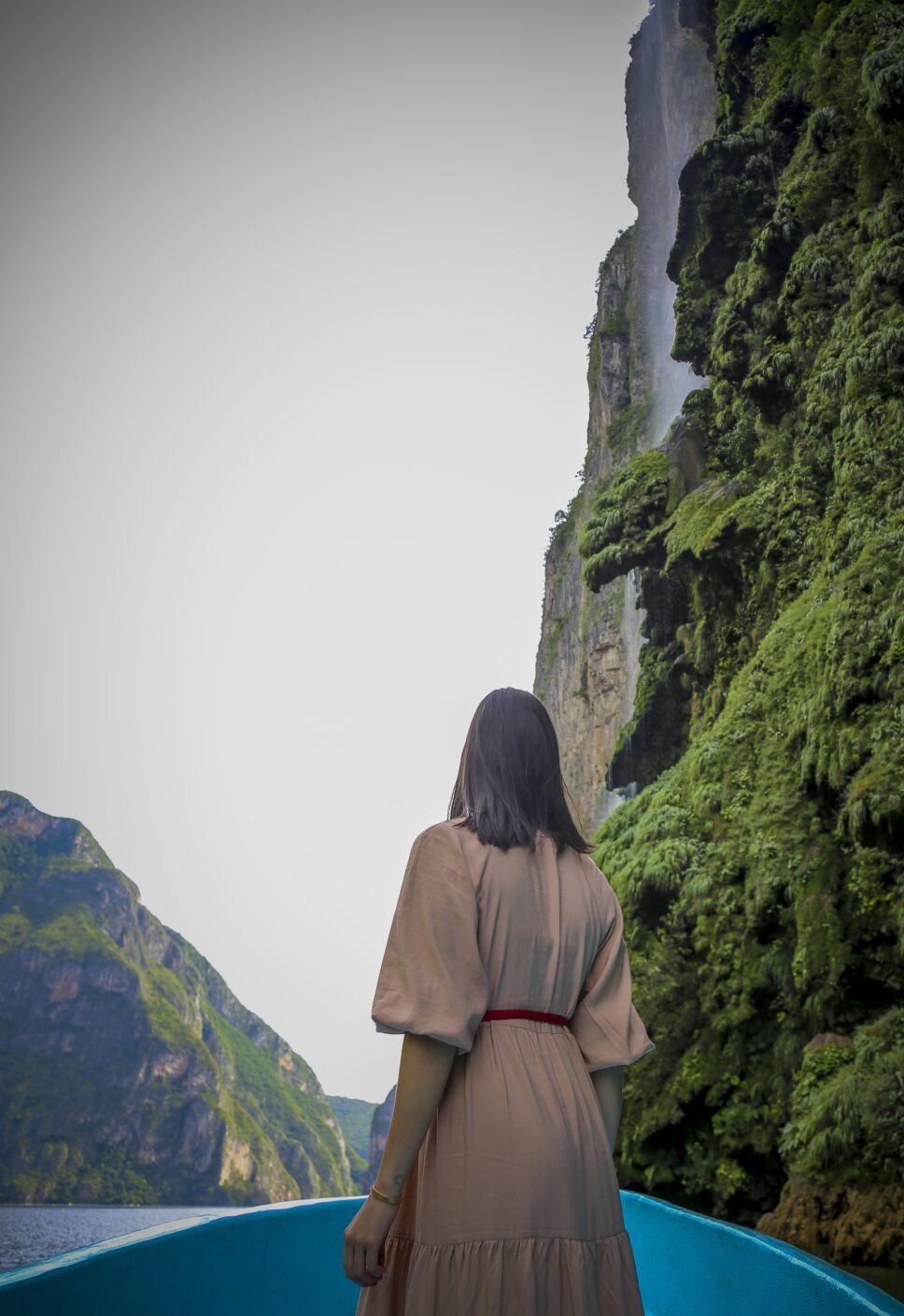 Majestuosidad del Cañón del Sumidero
