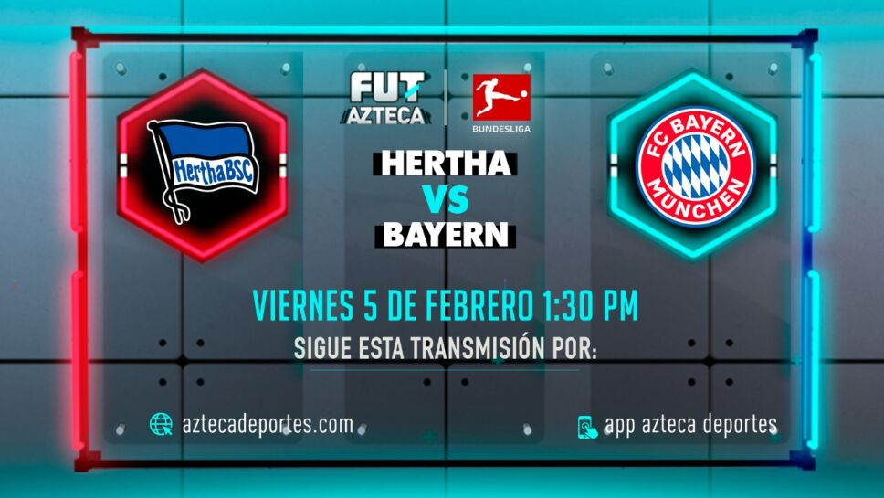 Hertha Berlín vs Bayern Munich Jornada 20 |Bundesliga