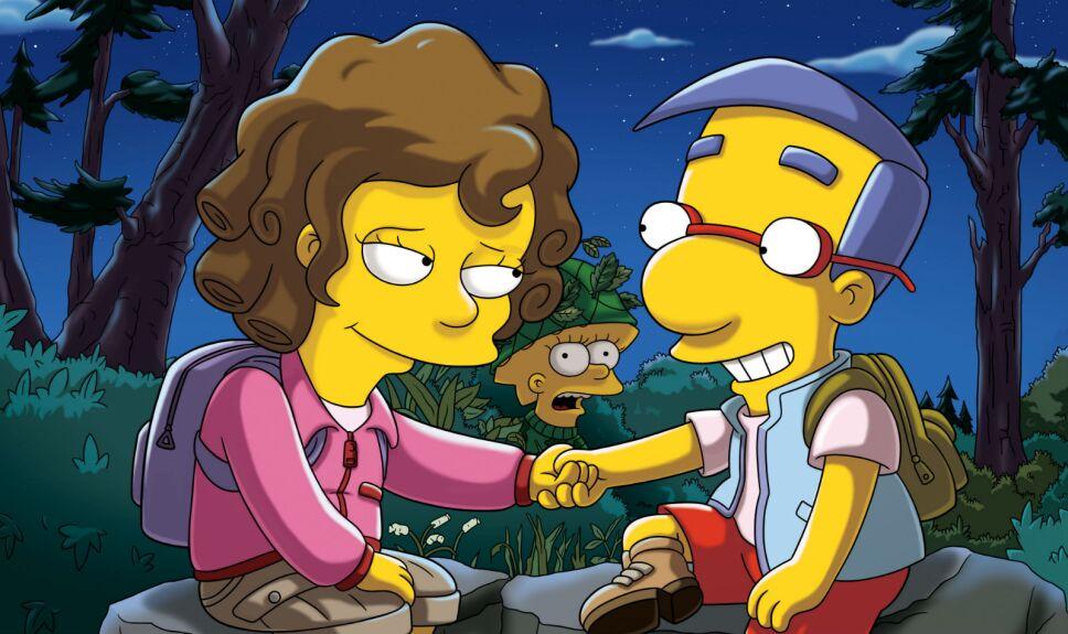 Los Simpson Homero manos de tijera