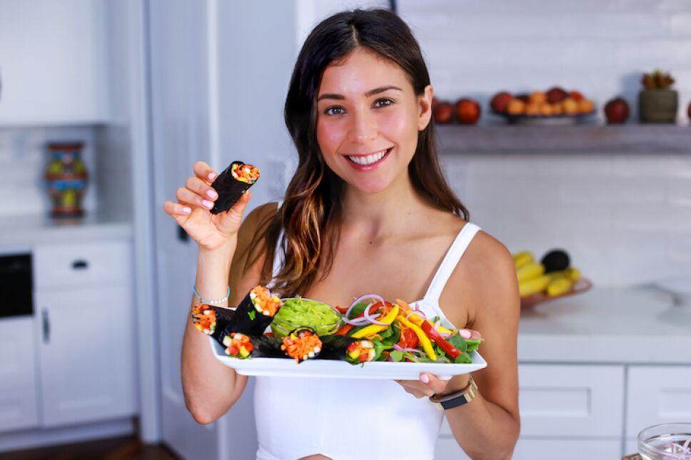 Rawvana: Promueve un estilo de vida saludable, a través del ejercicio y el veganismo / Foto: Eliot Media