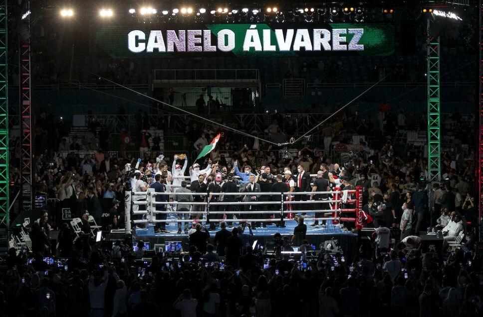 Canelo Álvarez boxeador UFC