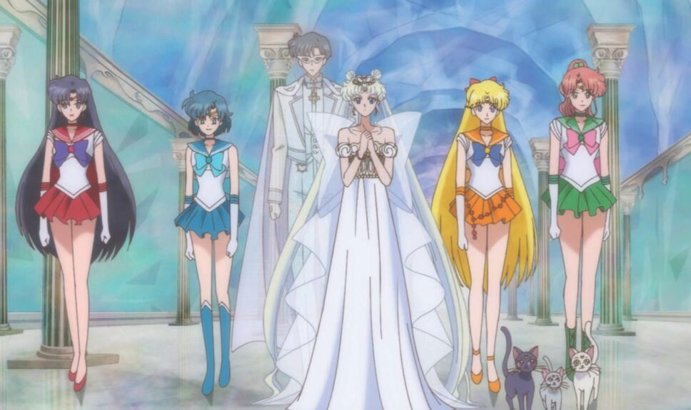 Reacciones cap final Sailor Moon Crystal