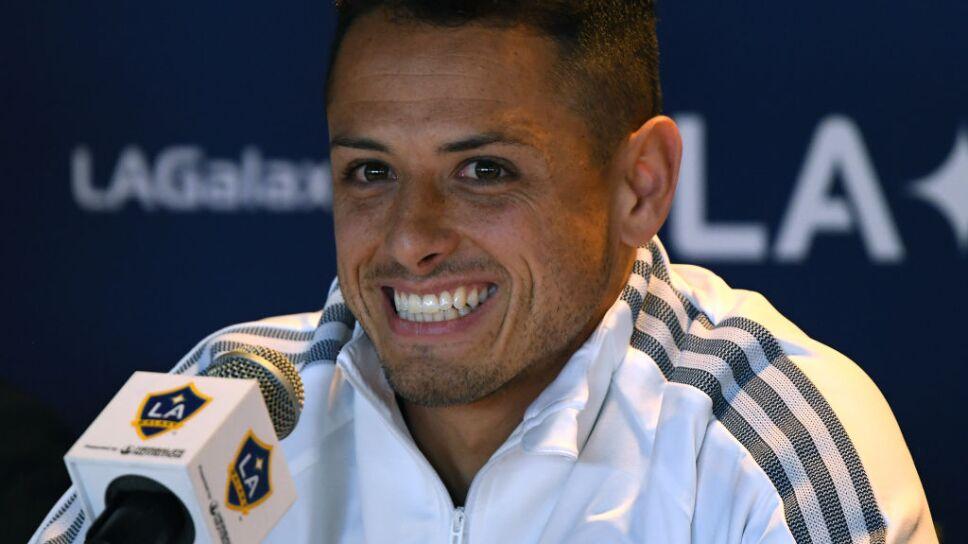 Los Angeles Galaxy Introduce Javier Chicharito Hernandez