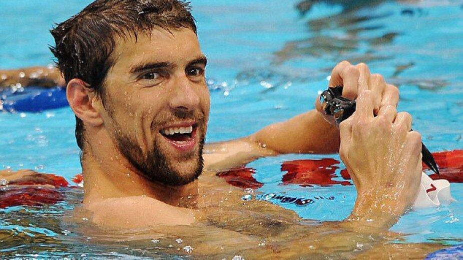 Michael Phelps fue compañero de Caeleb Dressel en Río 2016