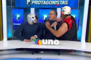 Puma king encara en vivo a Murder Clown